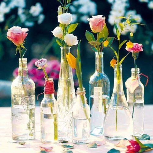 Bí quyết cắm hoa với bình dài mà bạn nên biết