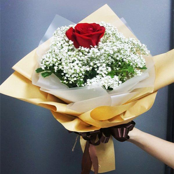 Ý nghĩa của 1 bông hồng đỏ trong tình yêu là gì?