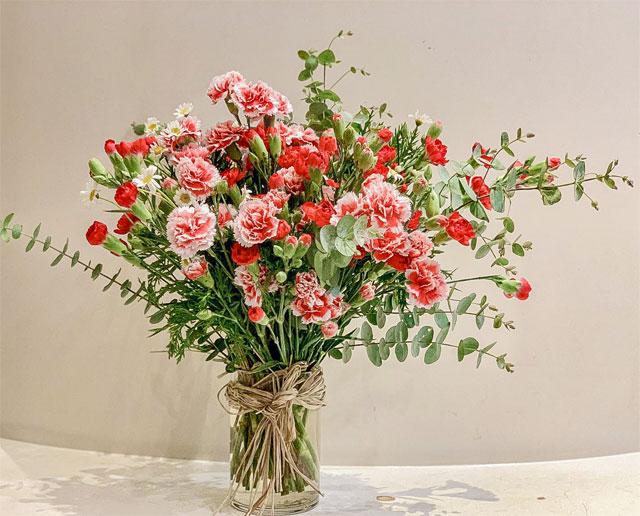 các loại hoa cắm lâu tàn nhất - hoa cẩm chướng