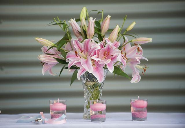 các loại hoa cắm lâu tàn nhất - hoa ly
